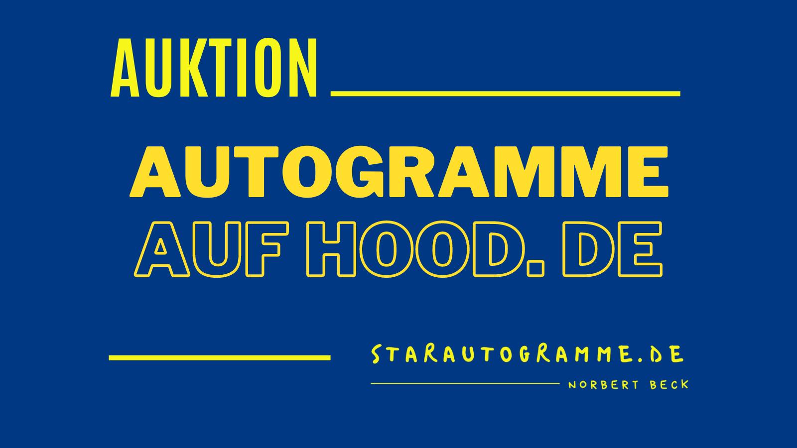 Read more about the article starautogramme.de auf Hood.de