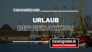 Read more about the article Urlaub der Redaktion