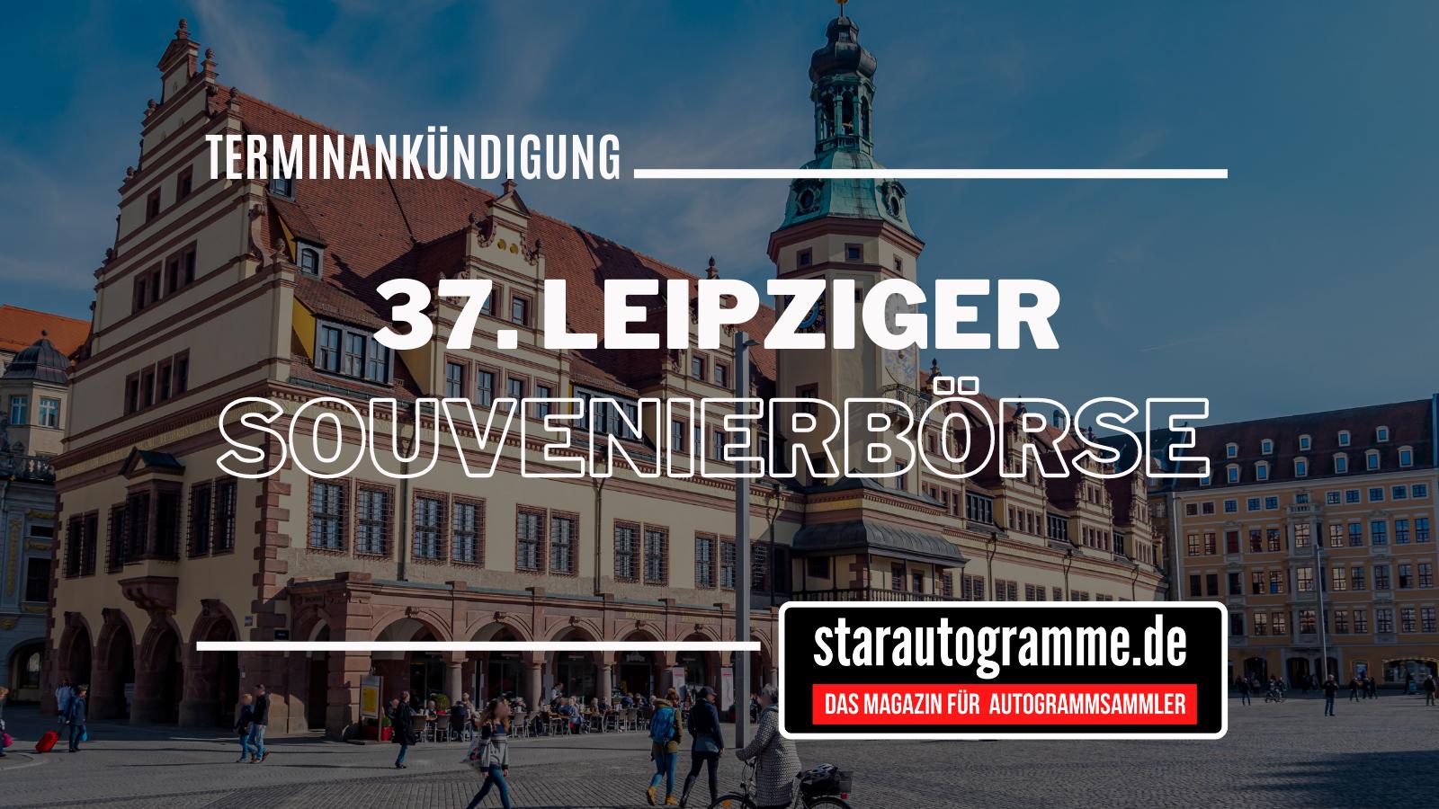 Read more about the article 37. Leipziger Souvenir-Börse