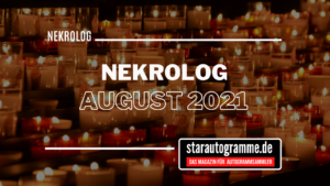 Read more about the article Nekrolog August 2021